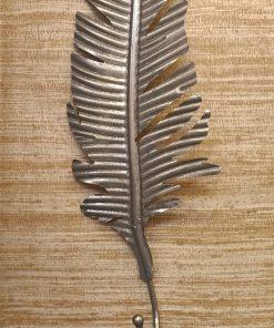 Gouden wandhaak blad
