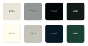 Sigma kleurcodes